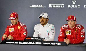 Hamilton happy to 'wipe the smile off' Vettel's face!