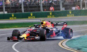 Verstappen's spin blamed on floor damage to RB14