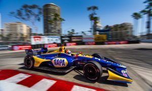 No stopping Alex Rossi in Long Beach