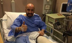 Ferrari's Francesco Cigarini is on the mend!