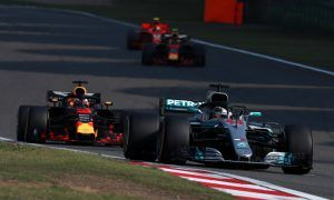 Hamilton surprised by sudden Red Bull presence in his mirrors