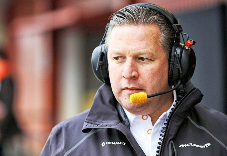 Zak Brown (USA) McLaren Executive Director