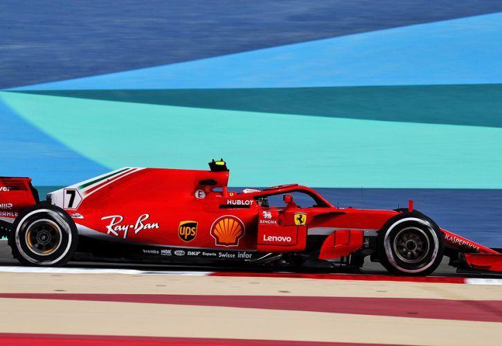 Kimi Raikkonen (FIN) Ferrari SF71H. Bahrain Grand Prix FP1