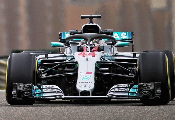 Hamilton, Mercedes bring 'A game' for Chinese GP fightback