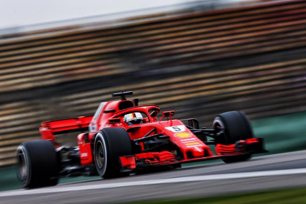 vettel scorches the opposition in chilly shanghai. Black Bedroom Furniture Sets. Home Design Ideas