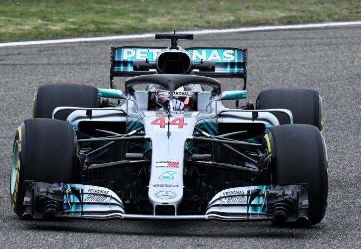 Lewis Hamilton, Mercedes - Chinese Grand Prix