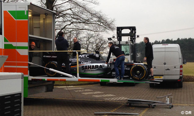 Force India - picture of the day