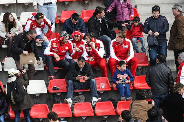 Motor Racing - Formula One Testing - Test Three - Day 3 -  Barcelona, Spain