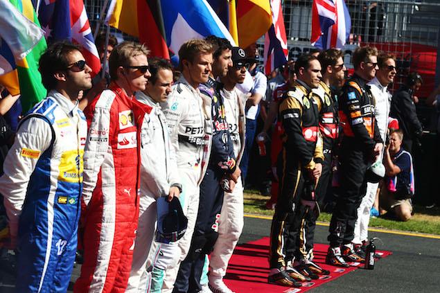 Motor Racing - Formula One World Championship - Australian Grand Prix - Race Day - Melbourne, Australia