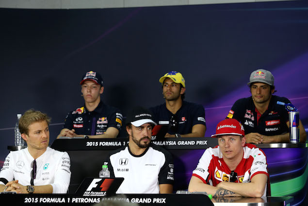 Motor Racing - Formula One World Championship - Malaysian Grand Prix - Preparations - Sepang, Malaysia