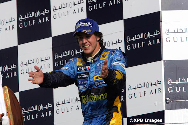 Formula 1 Grand Prix Bahrain, Podium