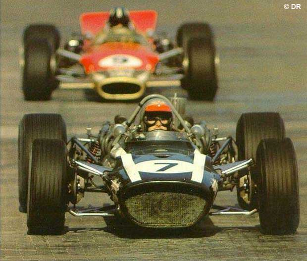 Just like Jules, Lucien Bianchi's finest hour in F1 came at Monaco where he finished on the podium in 1968.