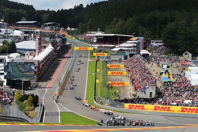 Motor Racing - Formula One World Championship - Belgian Grand Prix - Race Day - Spa Francorchamps, Belgium