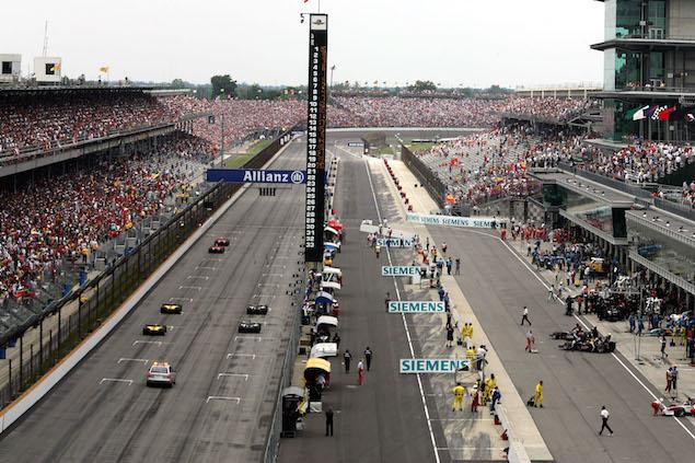 Formula 1 Grand Prix, Indianaoplis, Race