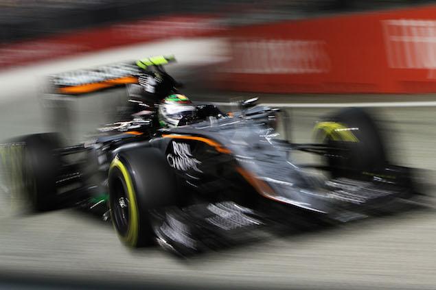 Motor Racing - Formula One World Championship - Singapore Grand Prix - Race Day - Singapore, Singapore