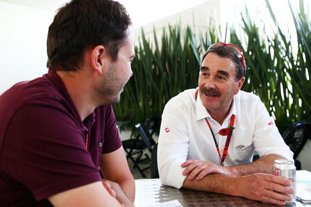 Nigel Mansell (GBR).