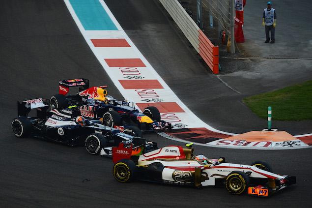 Motor Racing - Formula One World Championship - Abu Dhabi Grand Prix - Race Day - Abu Dhabi, UAE
