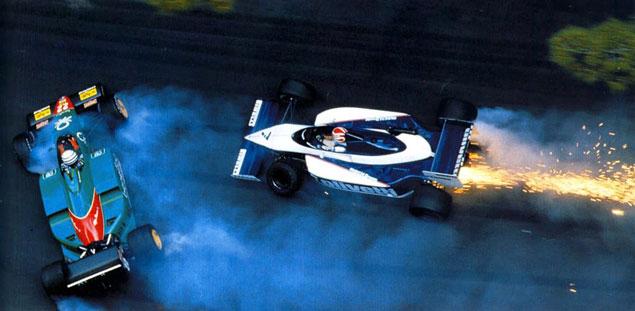 Look back Patrese Piquet Monaco
