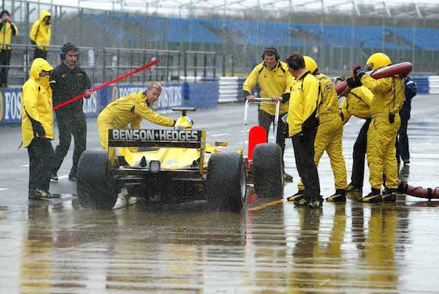 F1 Testings, Silverstone