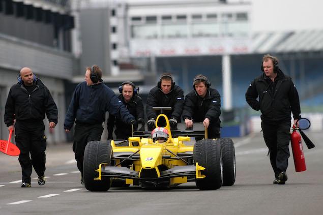 Formula 1 Testing, Silverstone, England