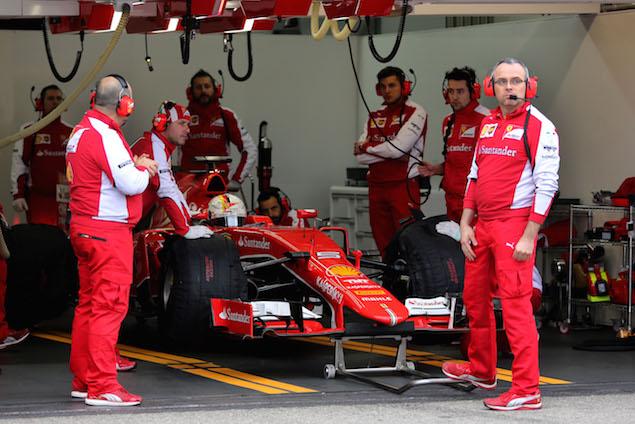 Motor Racing - Formula One Testing - Pirelli Wet Weather Test - Paul Ricard, France