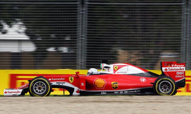 Vettel Friday story