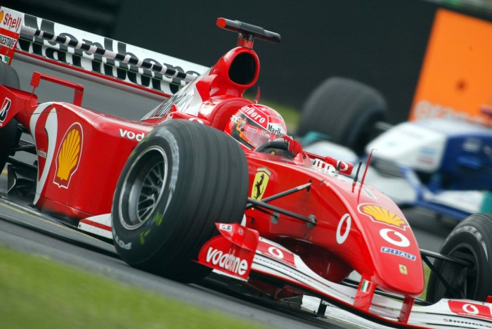 Samstagstraining, Strecke, Michael Schumacher, F2001