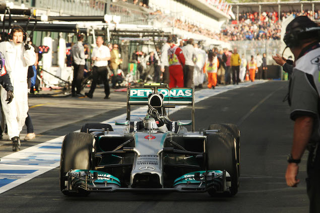 Motor Racing - Formula One World Championship - Australian Grand Prix - Race Day - Melbourne, Australia