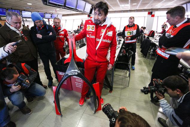Motor Racing - Formula One Testing - Test Two - Day 3 -  Barcelona, Spain