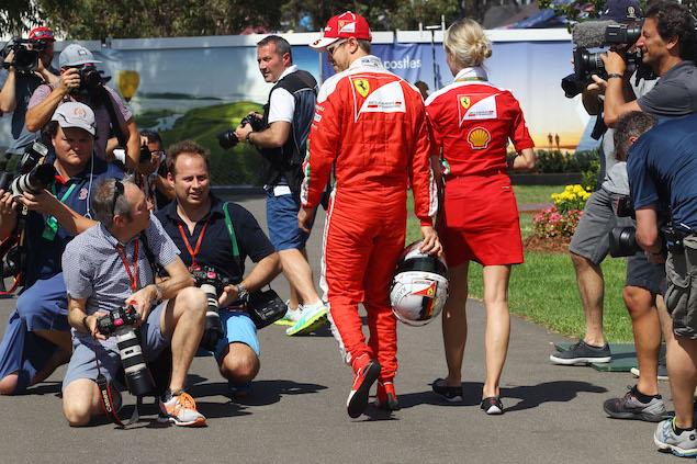 Motor Racing - Formula One World Championship - Australian Grand Prix - Preparation Day - Thursday - Melbourne, Australia