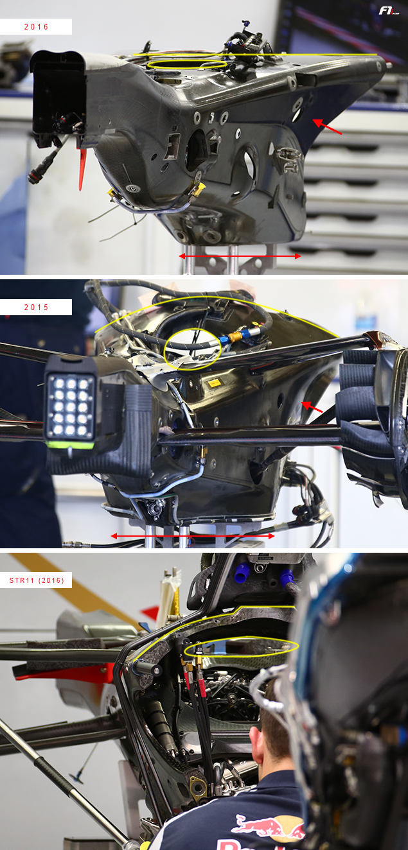 F1-technical-analysis-Ferrari-Sauber-Haas-gearbox