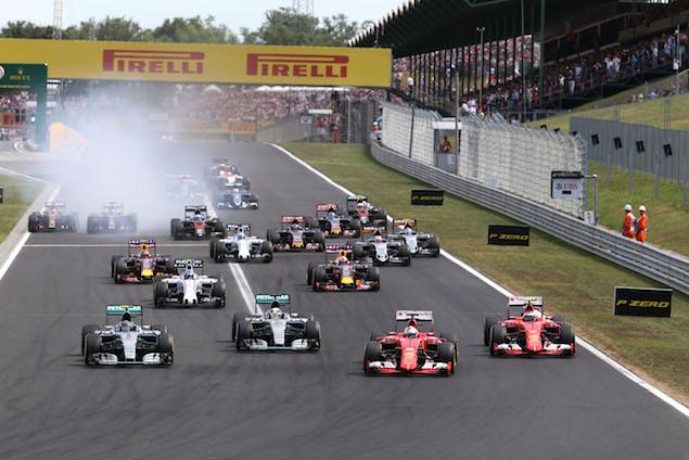 Motor Racing - Formula One World Championship - Hungarian Grand Prix - Race Day - Budapest, Hungary