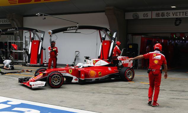Motor Racing - Formula One World Championship - Chinese Grand Prix - Qualifying Day - Shanghai, China
