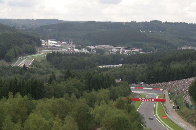 Formula 1 Grand Prix, Belgium, Saturday Qualifying
