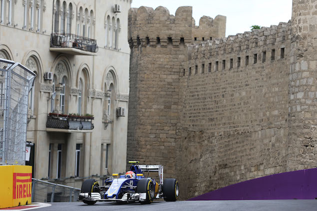 Motor Racing - Formula One World Championship - European Grand Prix - Practice Day - Baku, Azerbaijan