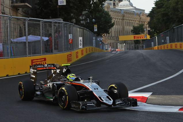 Motor Racing - Formula One World Championship - European Grand Prix - Race Day - Baku, Azerbaijan