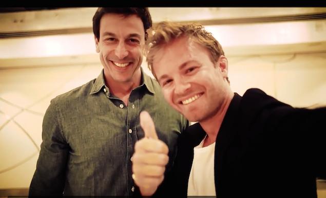©Nico Rosberg/Mercedes/Twitter