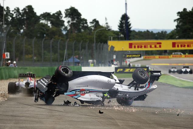Motor Racing - Formula One World Championship - German Grand Prix - Race Day - Hockenheim, Germany