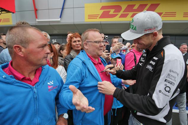 Motor Racing - Formula One World Championship - British Grand Prix - Preparation Day - Silverstone, England