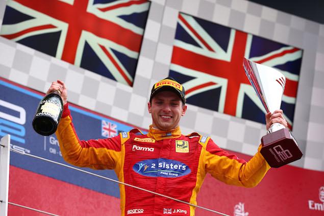 Motor Racing - GP2 Series - Sunday - Silverstone, England