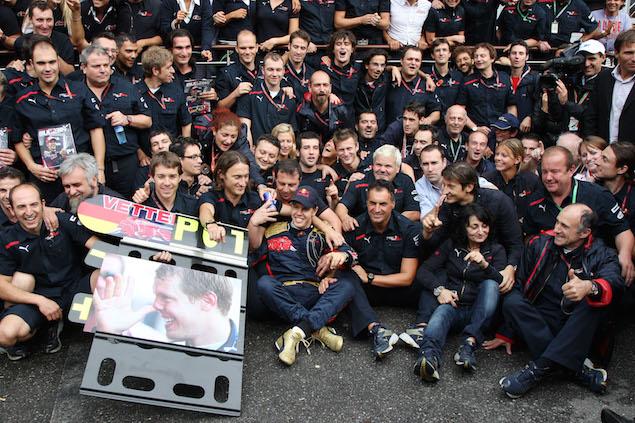 Formula 1 Grand Prix, Italy, Sunday Podium