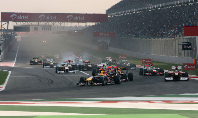 Formula 1 Grand Prix, India, Sunday Race