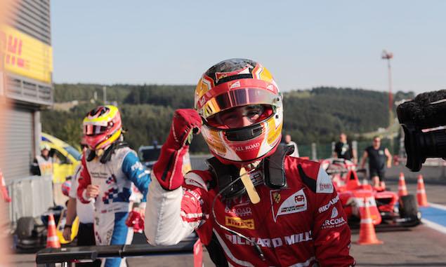 Motor Racing - GP3 Series - Saturday - Spa-Francorchamps, Belgium