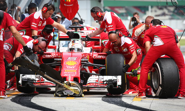 Motor Racing - Formula One World Championship - Malaysian Grand Prix - Qualifying Day - Sepang, Malaysia