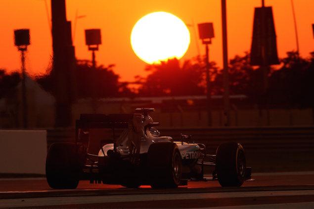Abu Dhabi GP Race 29/11/15