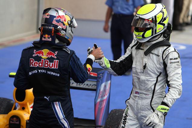 Formula 1 Grand Prix, Bahrain, Sunday Podium