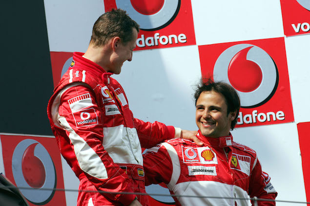 Formula 1 Grand Prix, Germany, Sunday Podium