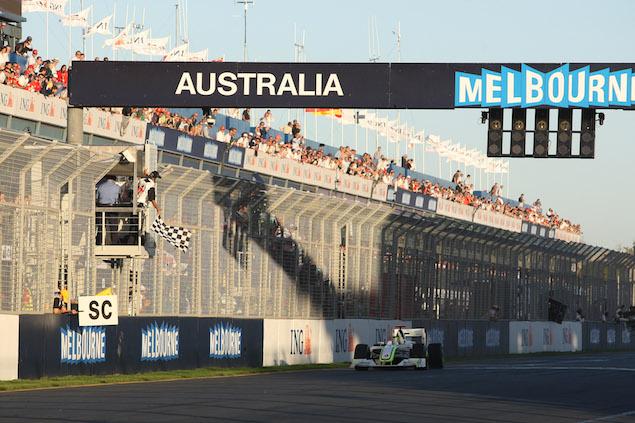 Formula 1 Grand Prix, Australia, Sunday Podium