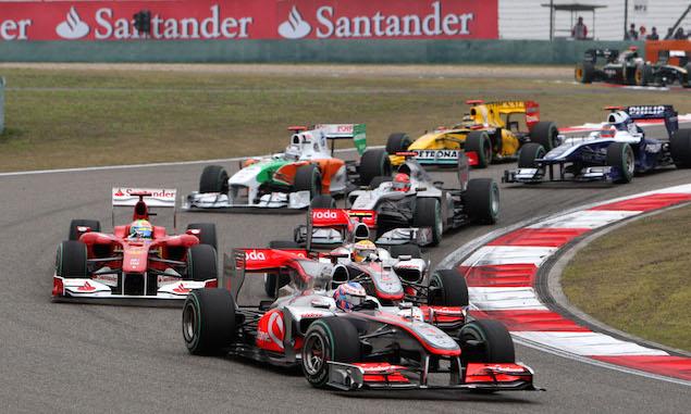 Formula 1 Grand Prix, China, Sunday Race