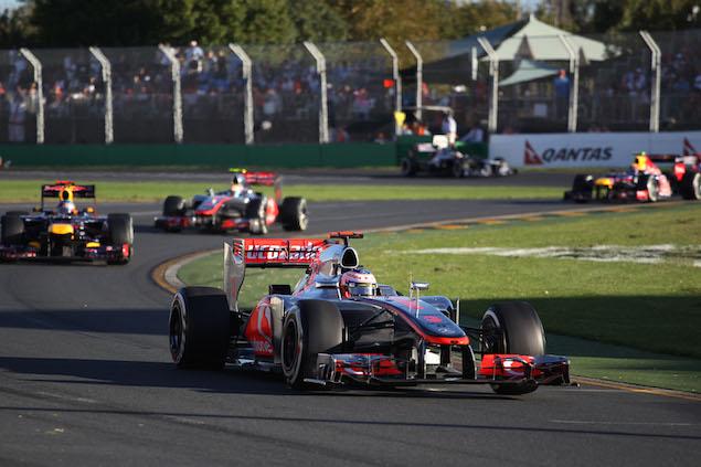 Motor Racing - Formula One World Championship - Australian Grand Prix- Sunday - Melbourne, Australia